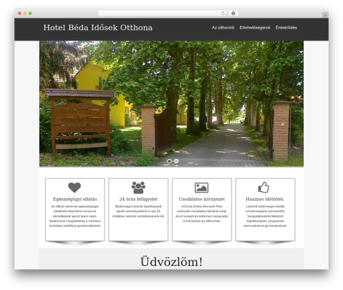 WordPress theme isis - hotelbeda.com