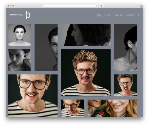 WordPress website template Shutterbird - haberlerphotografie.at