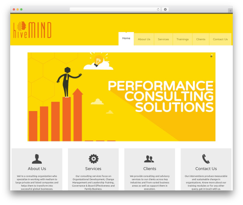 YellowProject Multipurpose Retina WP Theme best WordPress template - hivemindsol.com