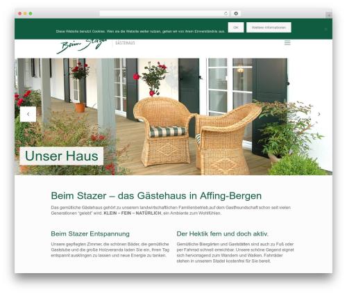 Betheme theme WordPress - beimstazer.de