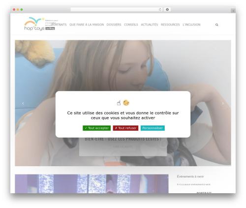 carolina WordPress news template - bloghoptoys.fr