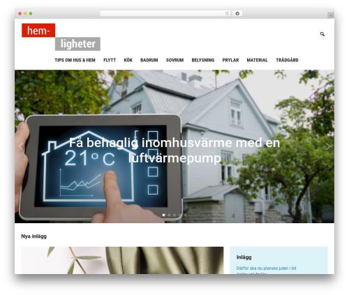 Insight premium WordPress theme - hem-ligheter.se