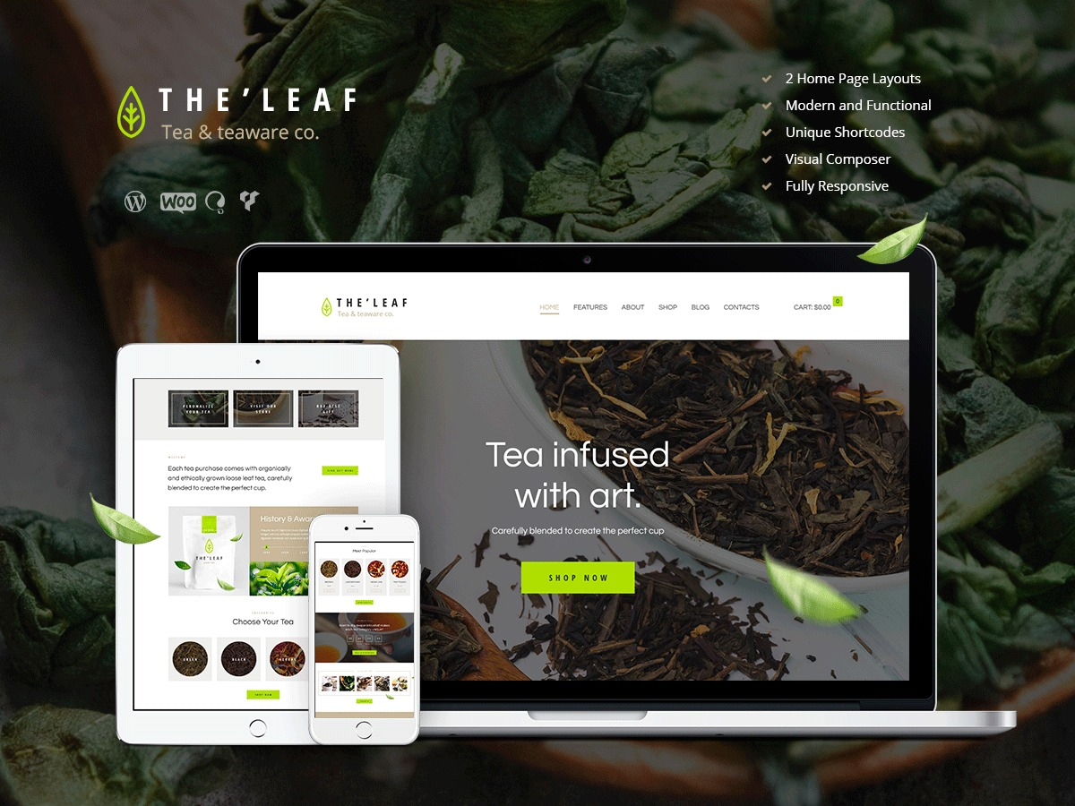 TheLeaf Child WordPress theme