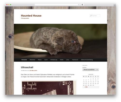 Twenty Eleven theme WordPress free - hauntedhouse-chesapeakes.net
