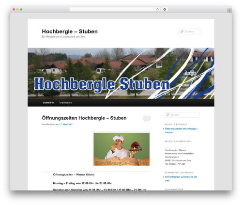 Twenty Eleven WordPress theme - hochbergle-stuben.de