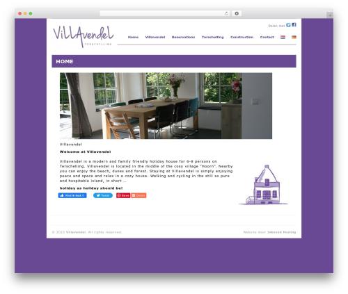 Workspace WordPress theme - huisopterschelling.nl