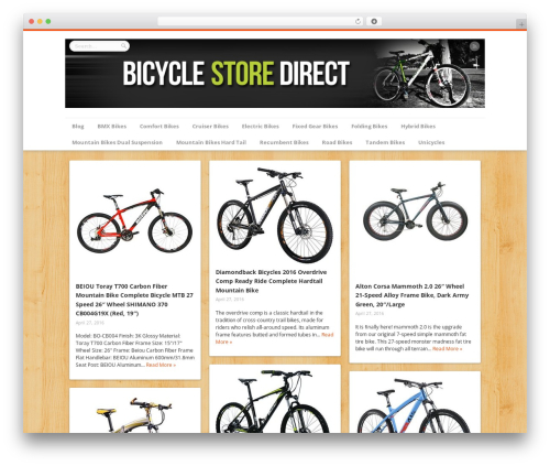 Best WordPress template Remal - bicyclestoredirect.com