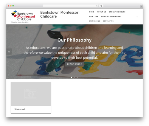 Customizr free WordPress theme - bankstownmontessori.com.au/public
