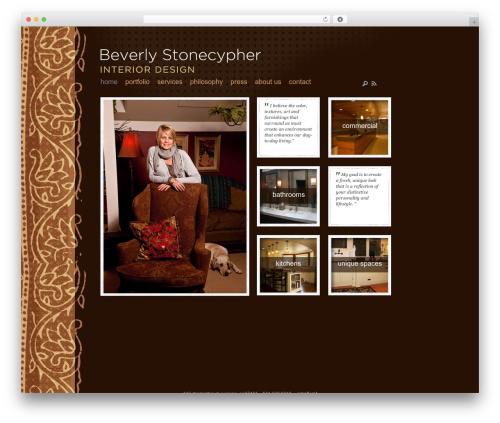 DailyNotes best WordPress template - beverlystonecypher.com