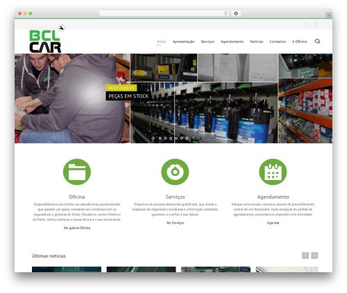 Novus WordPress page template - bclcar.com
