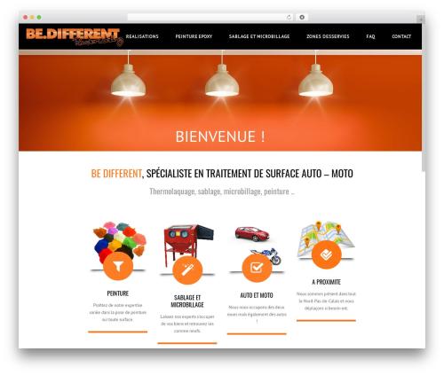 Subway WordPress theme - bdifferent.fr