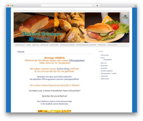 Theme WordPress picolight - baeckerei-holzmeyer.de