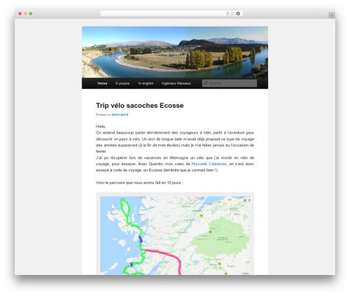 Twenty Eleven theme WordPress - blog.florian-berthelot.net