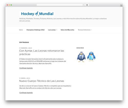Free WordPress My Quicktags plugin - hockey-mundial.com.ar