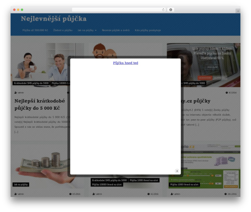 Wiles best free WordPress theme - bahesa.cz
