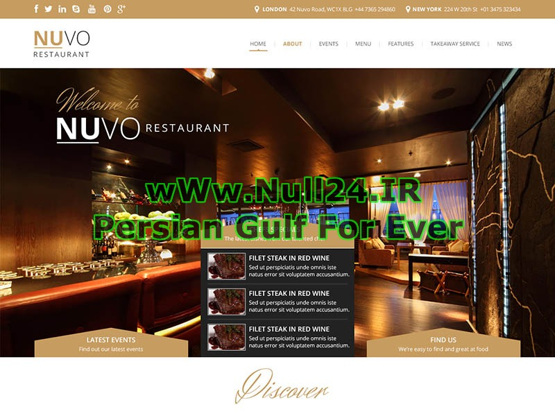 WP Nuvo(Released By Null24.ir) WordPress news theme