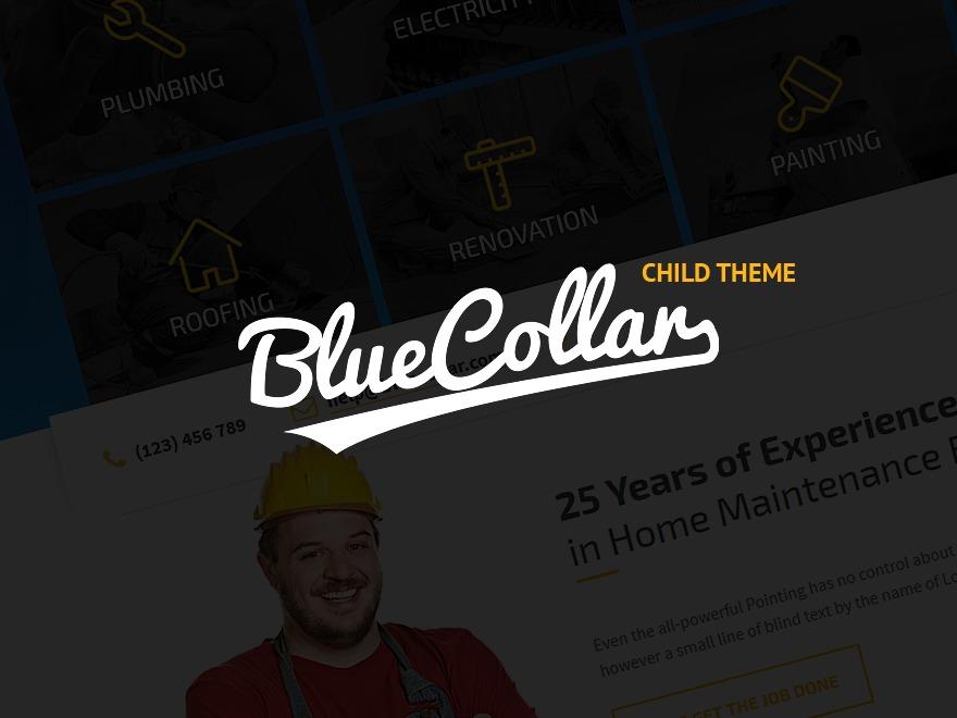 Belfast Maintenance theme WordPress