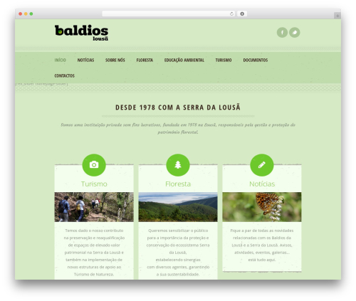 Best WordPress theme Dream Spa - baldioslousa.com