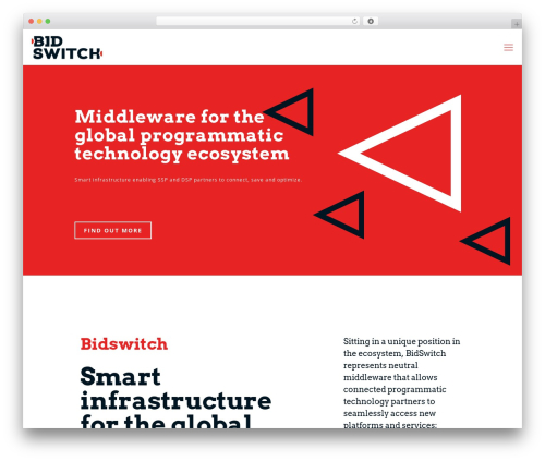 Betheme WP theme - bidswitch.com