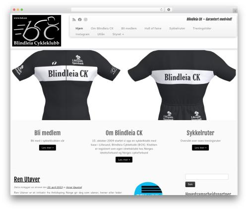 Customizr best free WordPress theme - bck.no