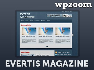 Evertis Magazine WordPress news template