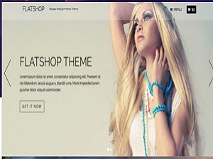 Flatshop() WordPress ecommerce template