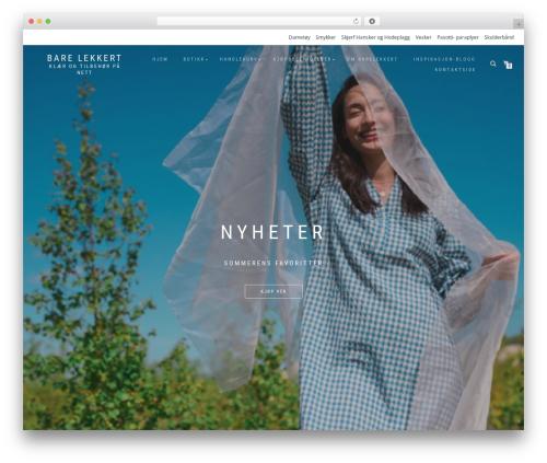 ShopIsle PRO WordPress store theme - barelekkert.no