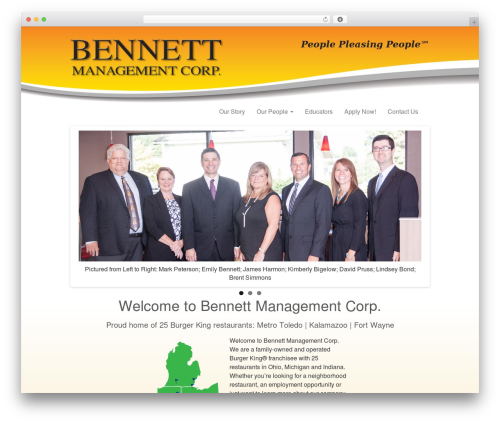 _tk WordPress theme - bennettmanagement.com