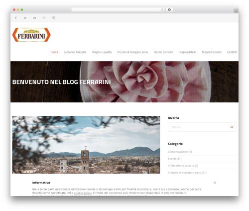 WordPress template Jomelle - blog.ferrarini.com