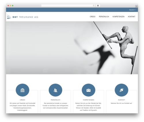 WordPress website template Kapital - bbt-trust.com