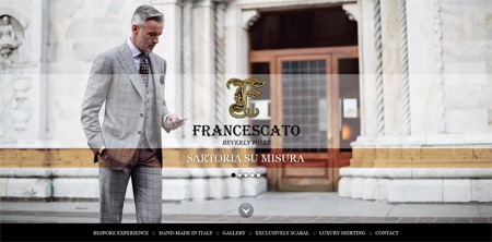Best WordPress theme Francescato Beverly Hills