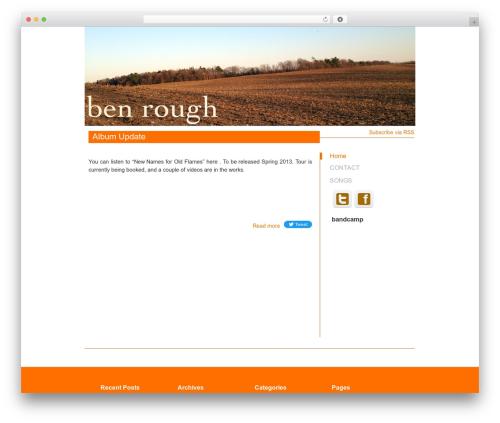 Kasrod best WordPress theme - benrough.com