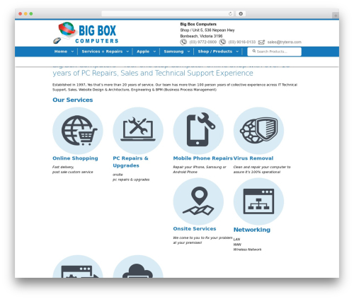 Storefront theme WordPress free - bigboxcomputers.com.au