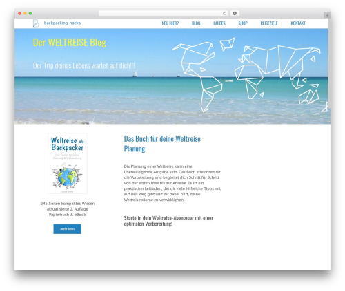 Subway WordPress page template - backpackinghacks.de