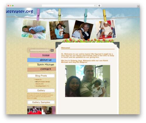 WordPress theme Children and Toys - bestvater.org