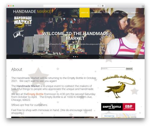 Fitness Lite best free WordPress theme - handmadechicago.com