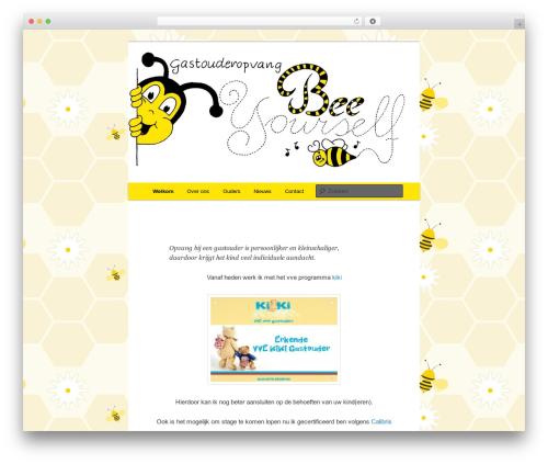 Free WordPress Twenty Eleven Theme Extensions plugin - beeyourself.nl