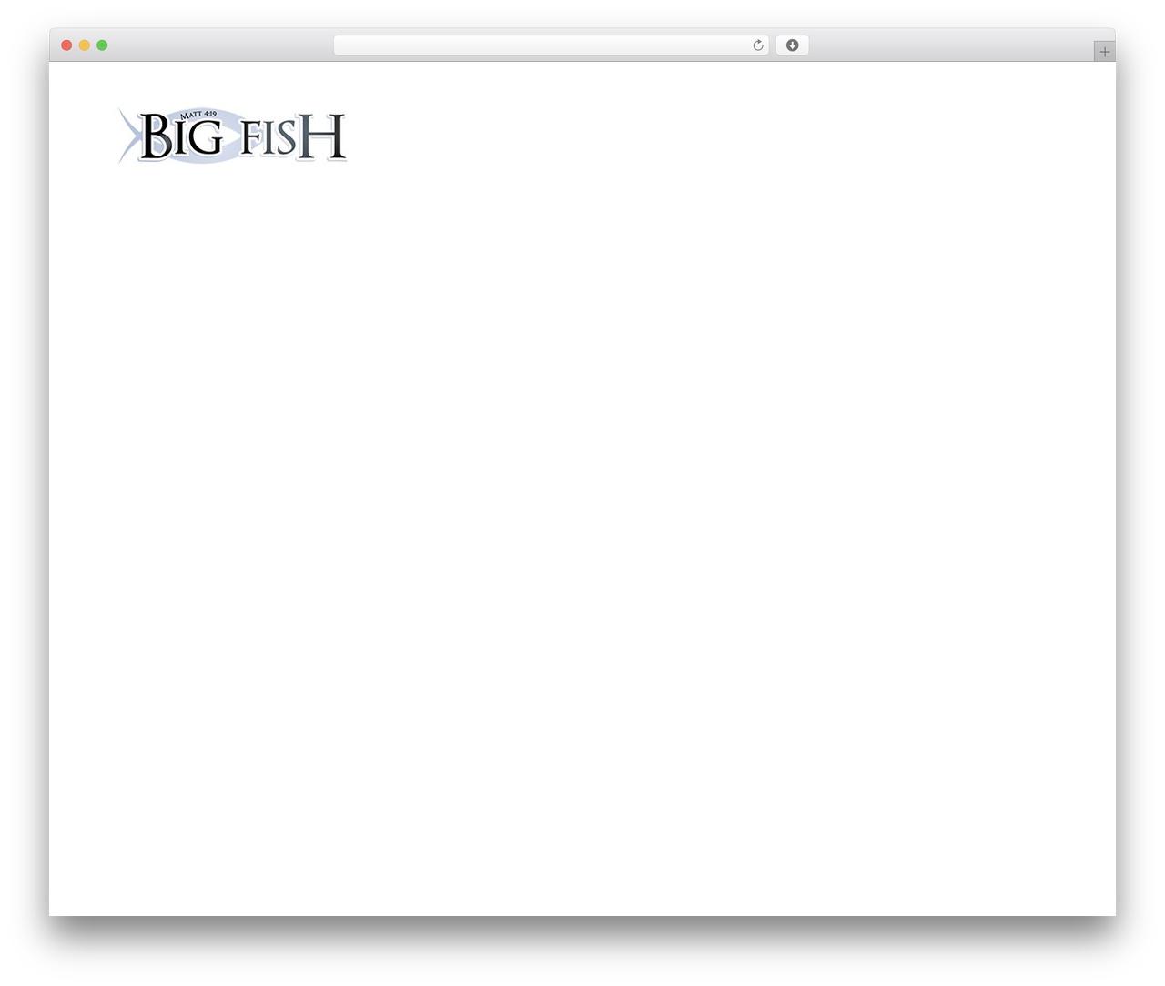 Avada best WordPress theme - bigfishcontracting.com