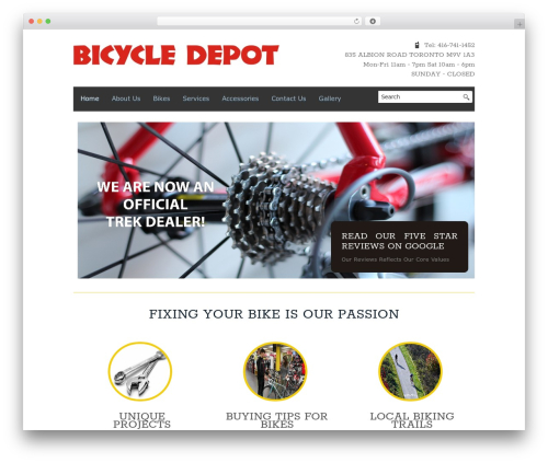 Free WordPress Info Boxes Shortcode and Widget plugin - bicycle-depot.com