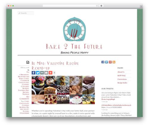 Elemin premium WordPress theme - bake2thefuture.com