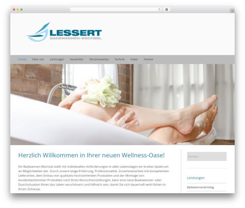 Trades theme WordPress - badwannen-wechsel.ch