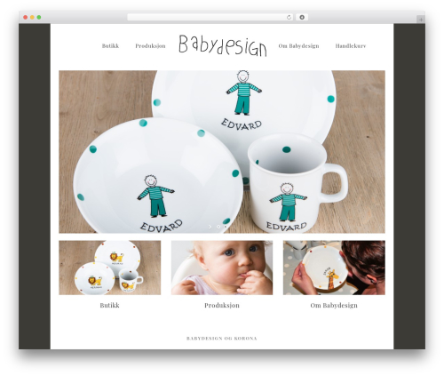 Free WordPress WooCommerce plugin - babydesign.no