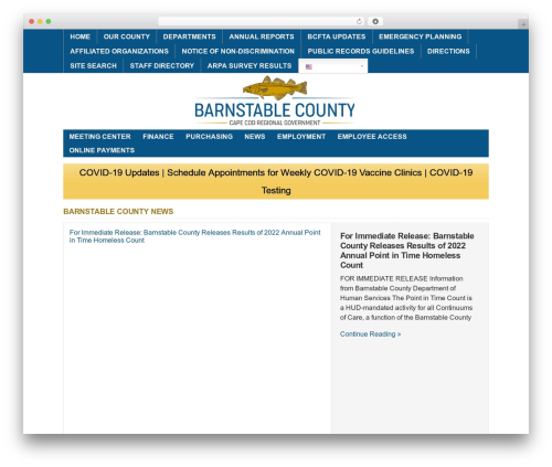 WP-Brilliance template WordPress - barnstablecounty.org