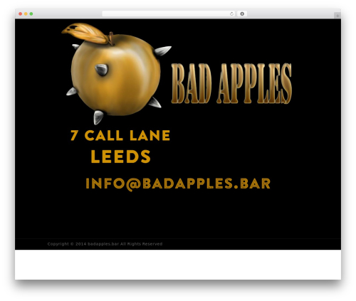 WP Champion top WordPress theme - badapples.bar