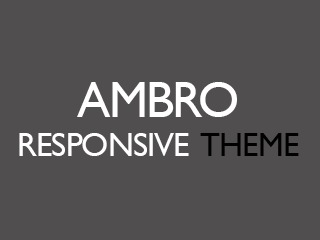 Ambro WordPress magazine theme