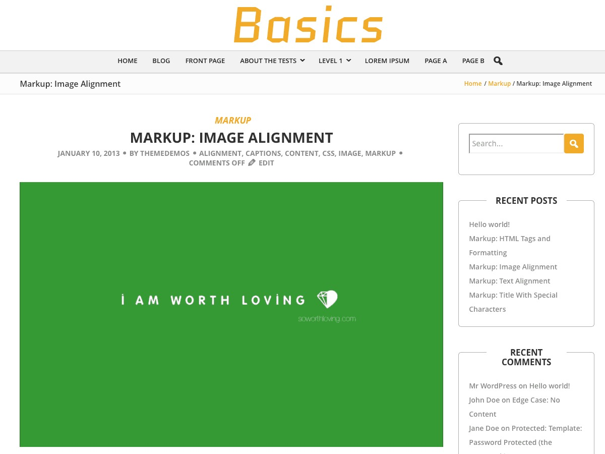 BCorp Basics free WP theme