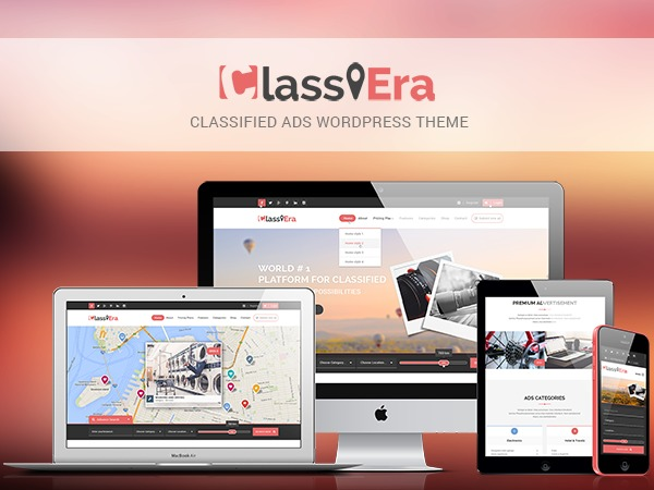 Best WordPress template Classiera