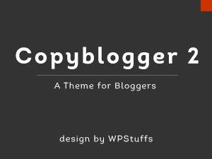 Copyblogger 2 Child Theme WordPress blog theme
