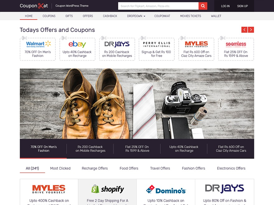 Coupon by MyThemeShop WordPress store theme