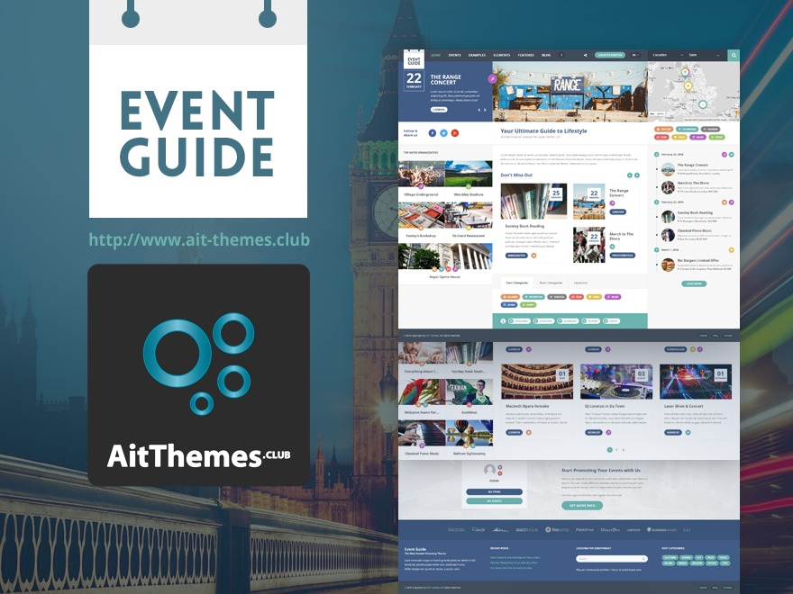Event Guide best WordPress theme